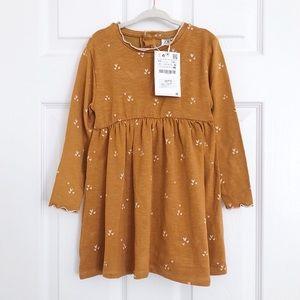 Zara heart print dress